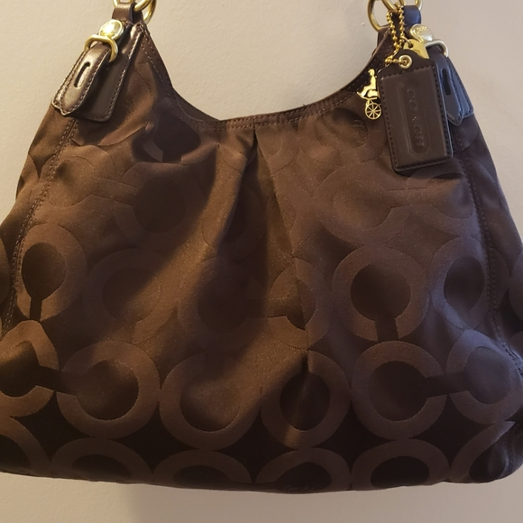 Coach Handbags - AUTHENTIC Chocolate Brown Coach Hobo